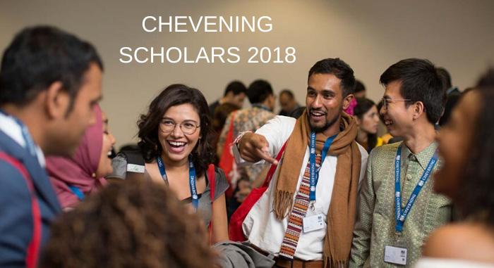 chevening scholarships scholars 2018
